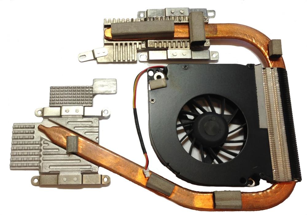 Система охлаждения приблизительно похожа во всех ноутбуках